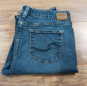Levi's low rise boot cut (14 short)